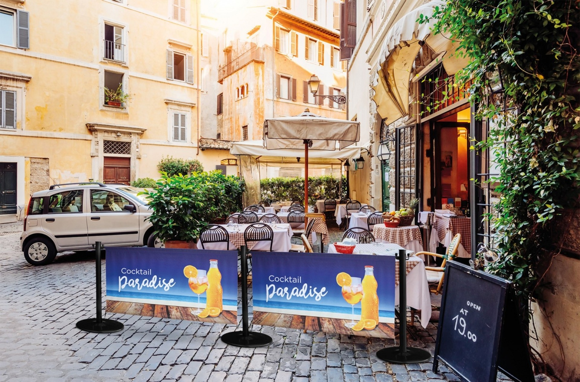 Terrace Barrier Wollux
